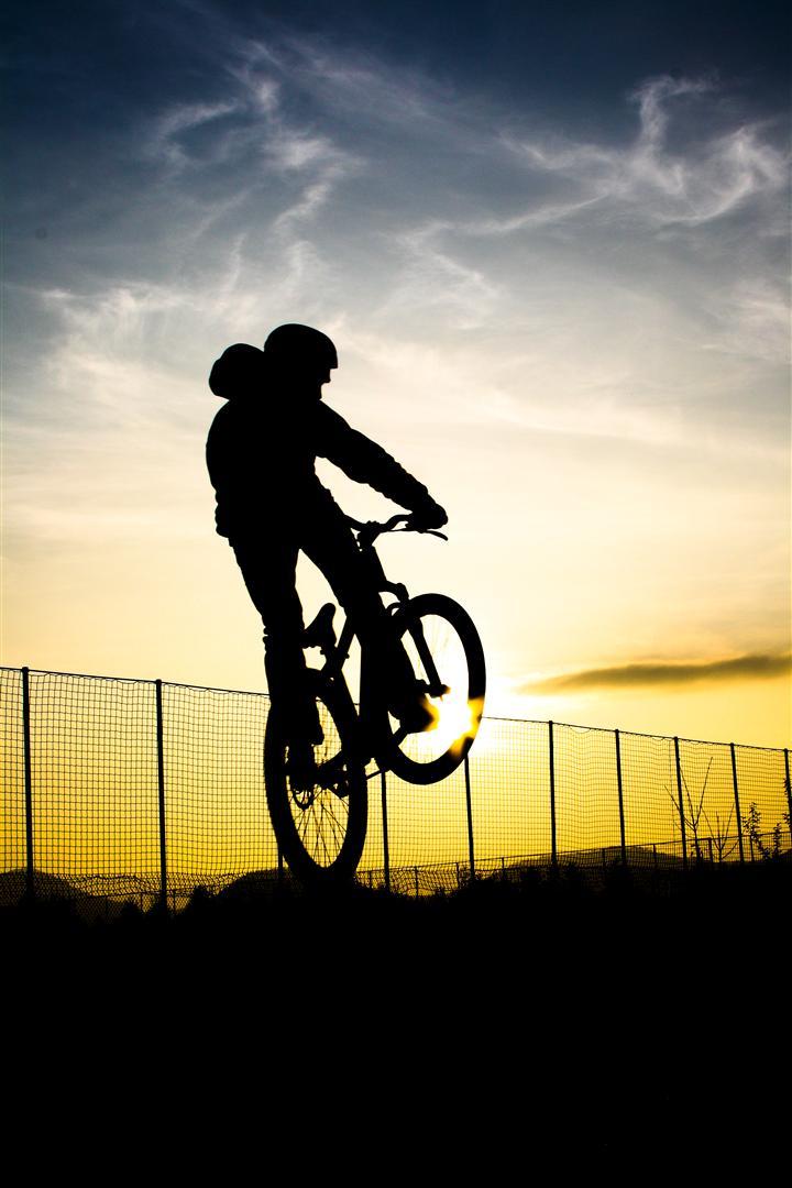 Biking in the Sunlight