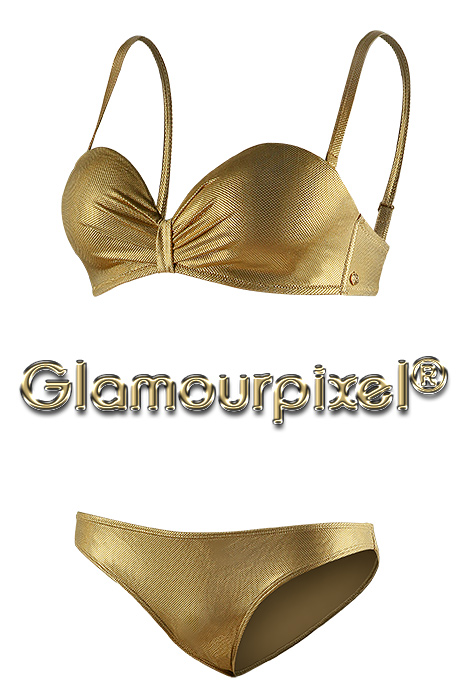 Bikini gold Hollow Man