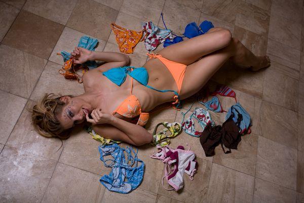 Bikinis en folie