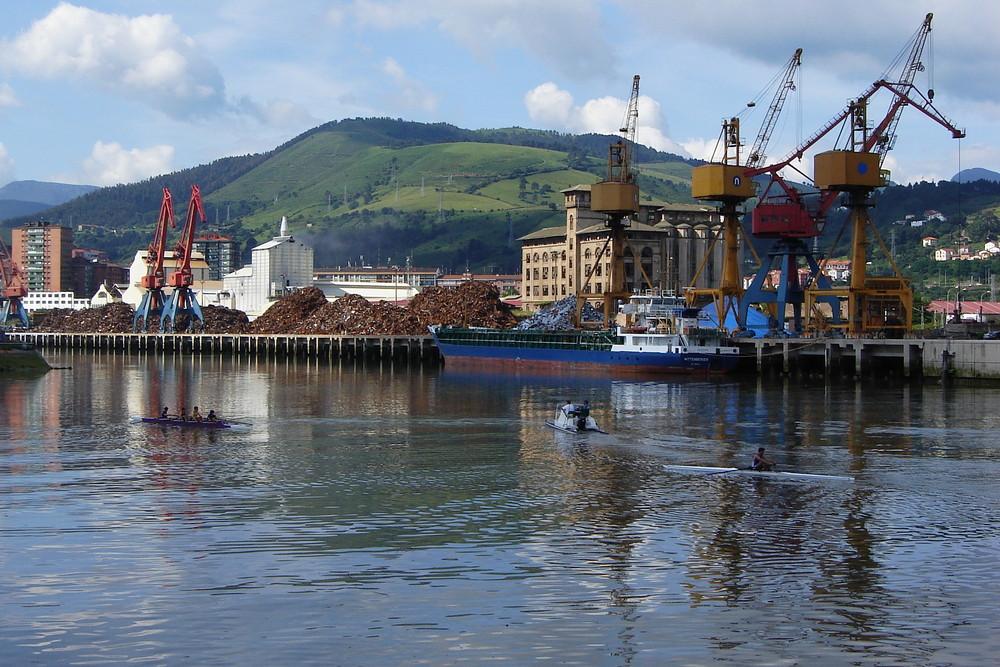 Bilbao docks; Northern Spain.