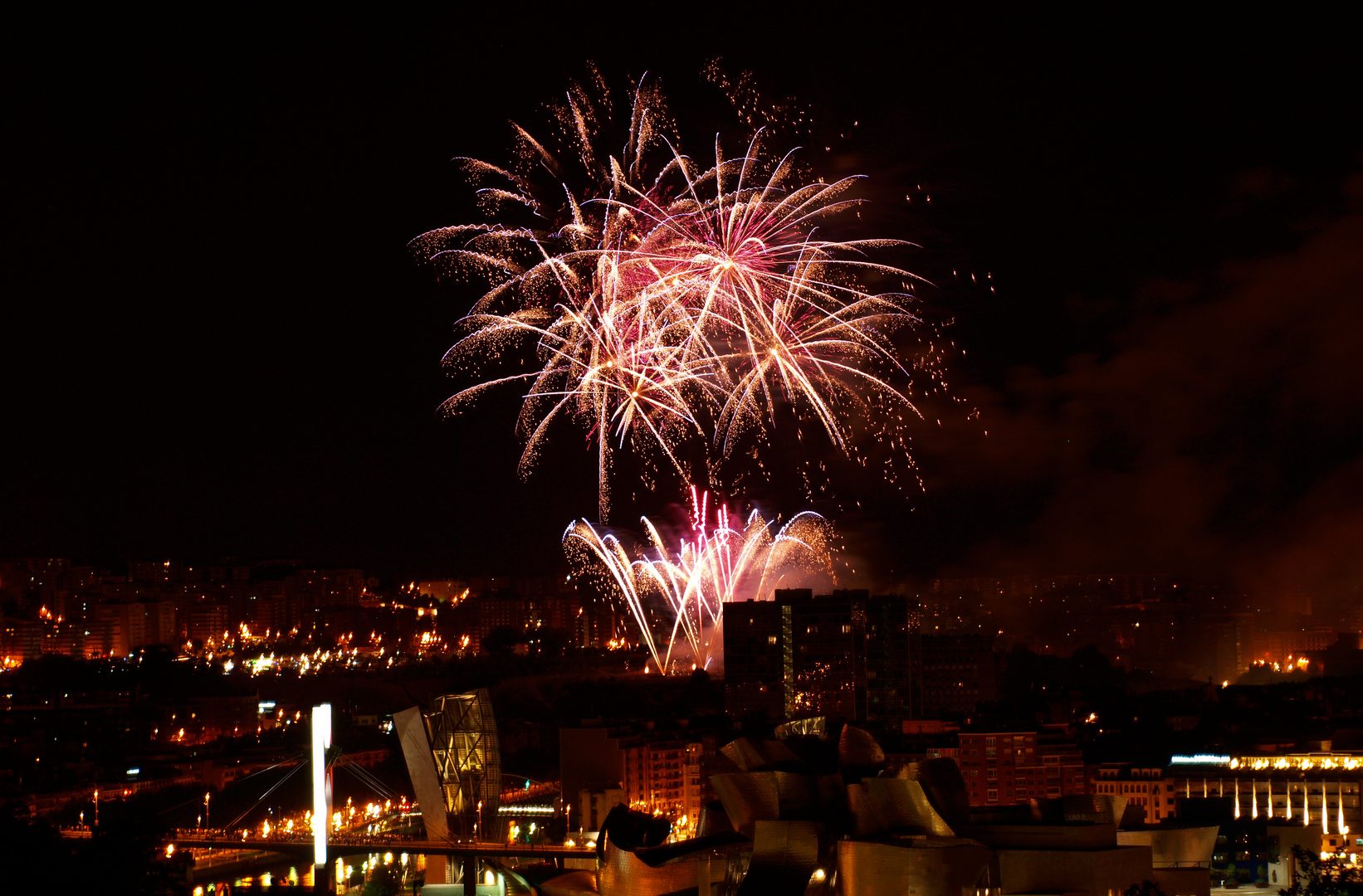 Bilbao fireworks
