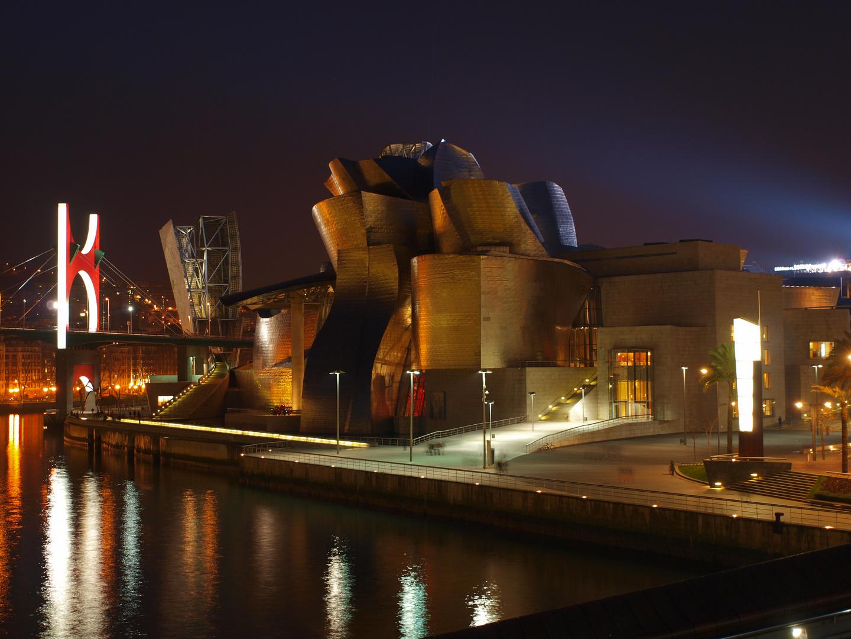 Bilbao Guggenheim Nocturno