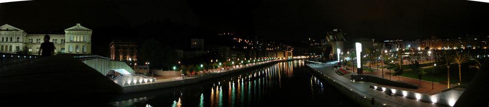 Bilbao nocturno