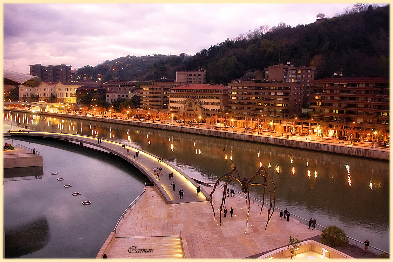 Bilbao...con otra luz.
