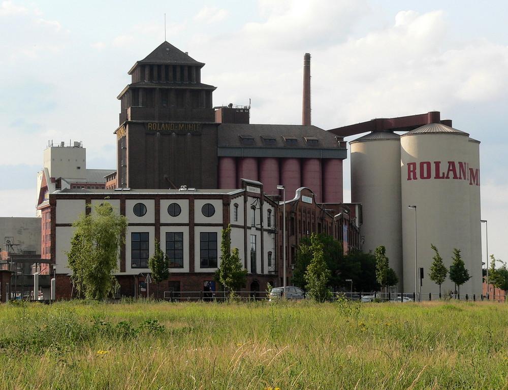 Bild 1 Speicher 17 und die Roland - Mühle