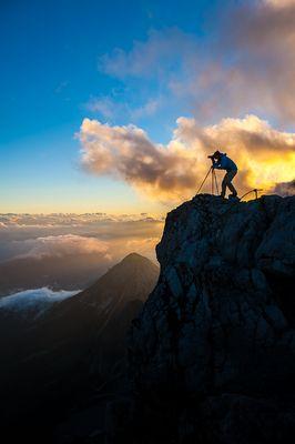 Bild aus der Fotowanderwoche am Dachstein mit Herbert Raffalt.