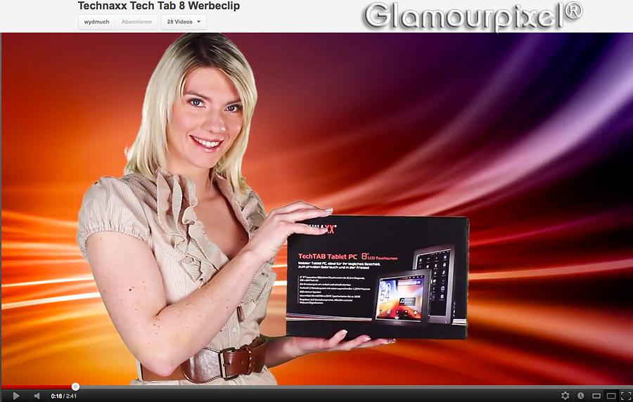 Bild aus Werbeclip