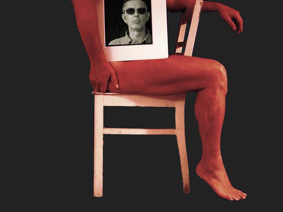 Bild mit Bein