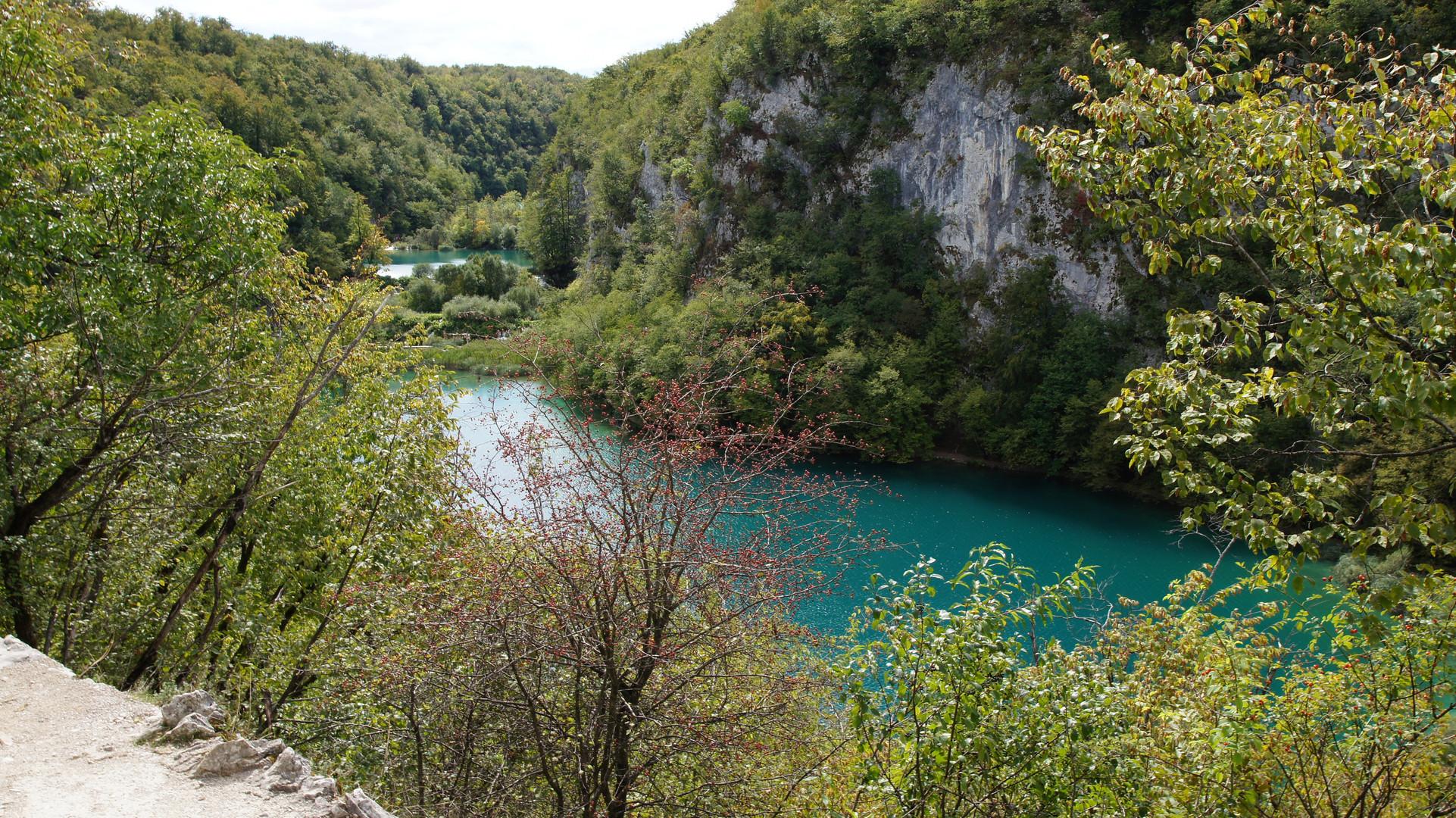 Bild von den Plitvicer Seen