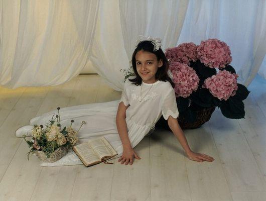 Bilder der ersten heiligen Kommunion meiner Tochter Jasmin am 22.04.01