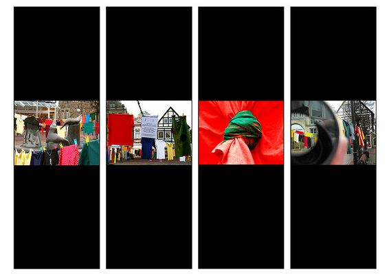 Bilder einer Ausstellung: Zeichen setzen gegen Gewalt