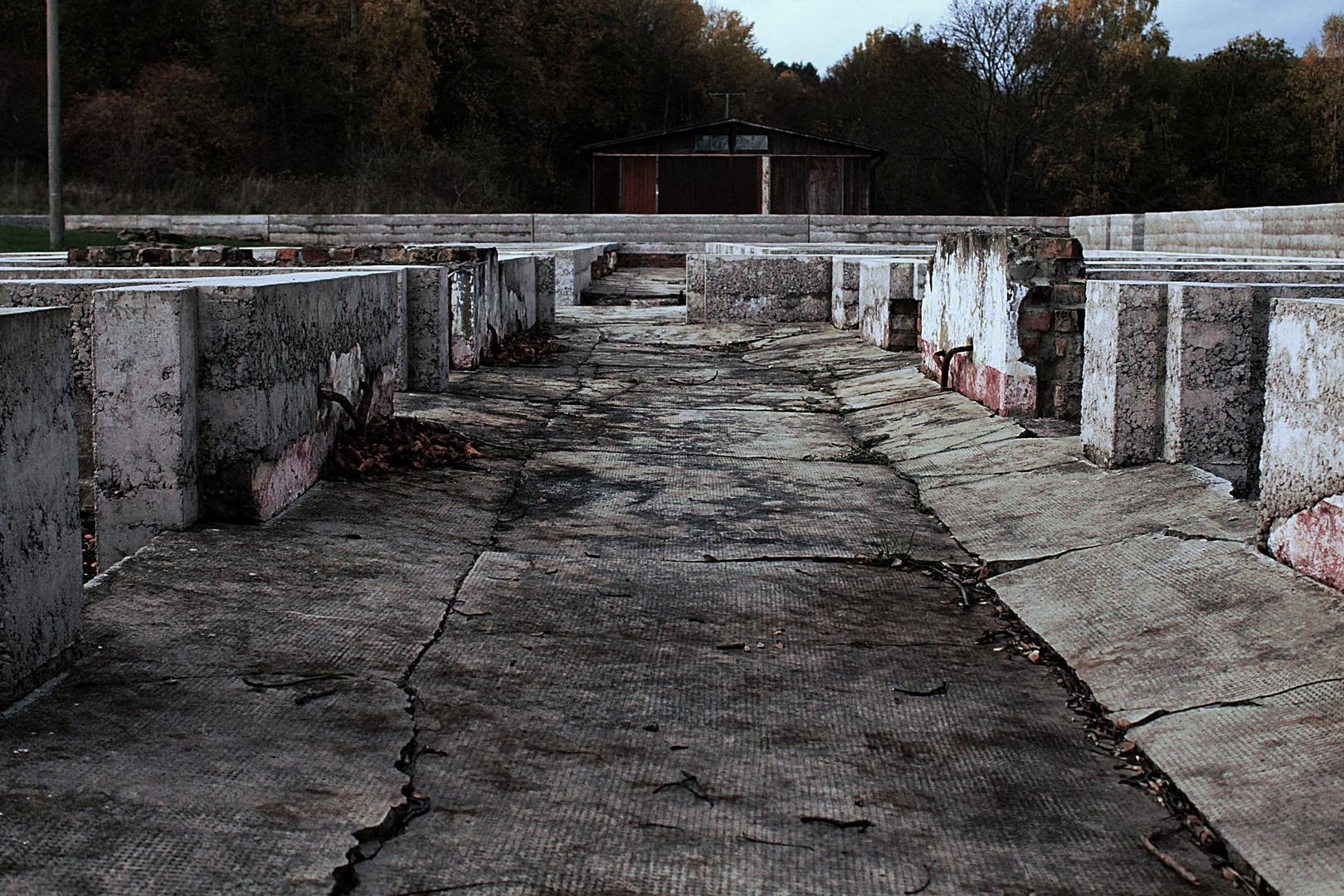 Bilderreihe Mittelbau-Dora: Der Gefängnistrakt