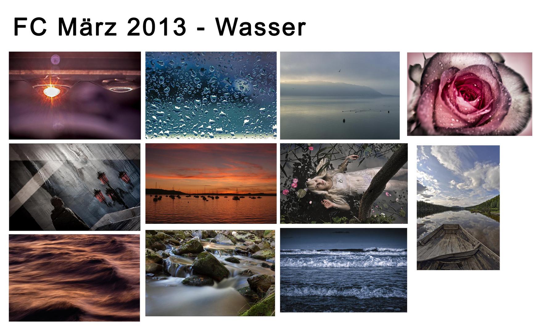 Bilderübersicht Wasser - März 2013