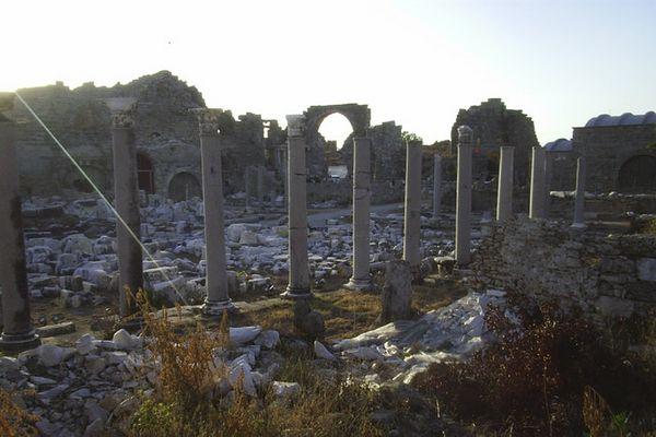 bildhafte Ruinen