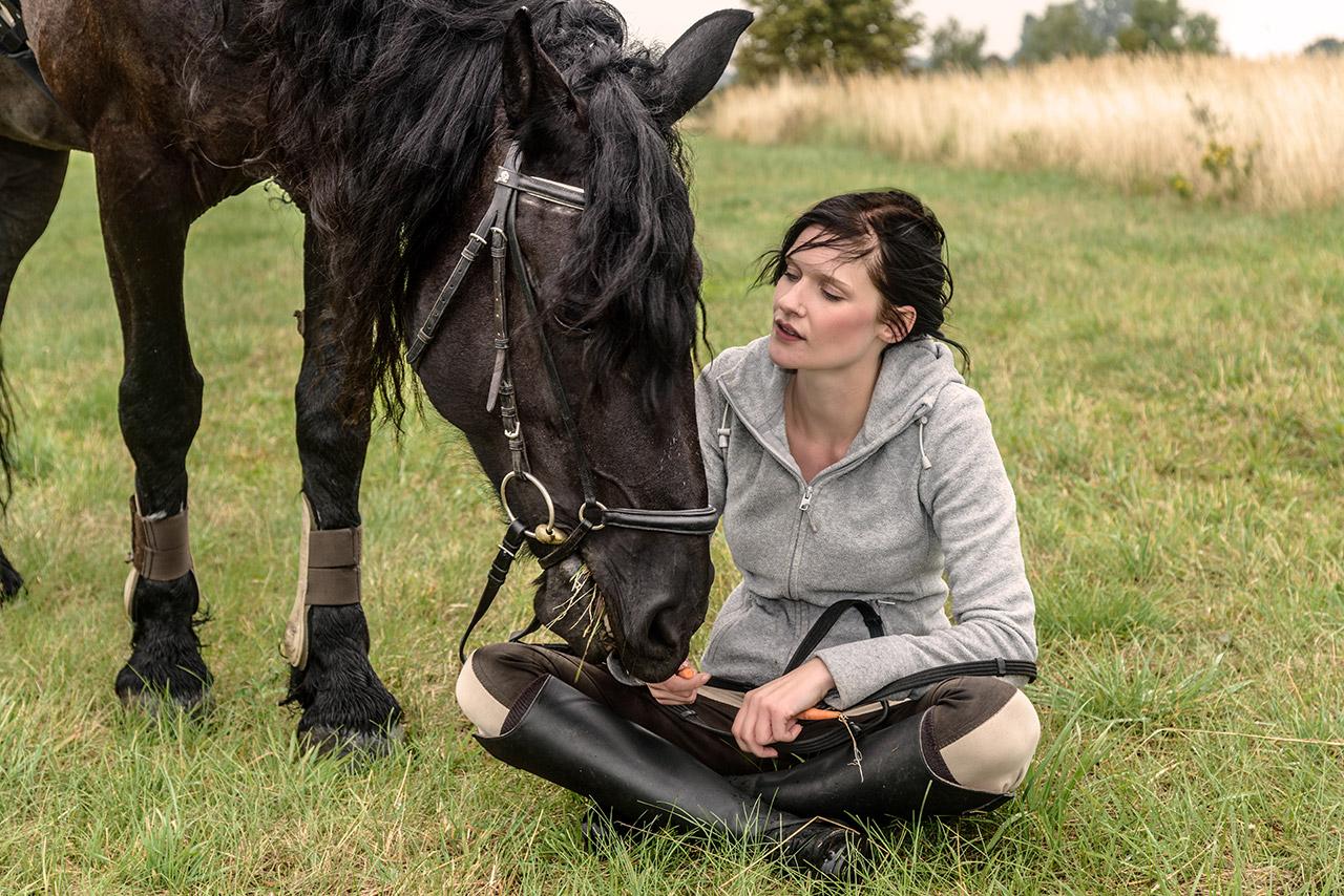Bildserie: Mensch und Pferd - 4