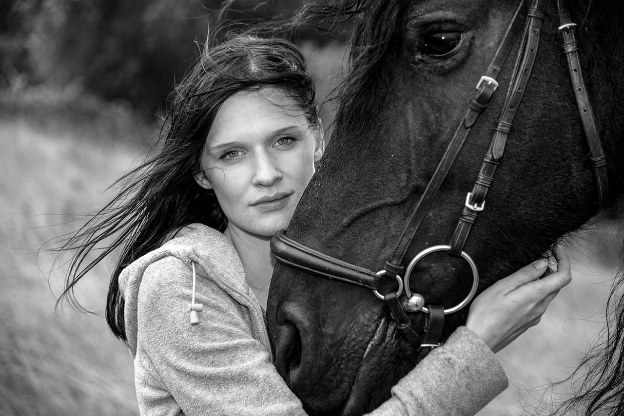 Bildserie: Mensch und Pferd - 6