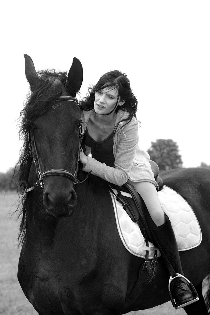 Bildserie: Mensch und Pferd - 8
