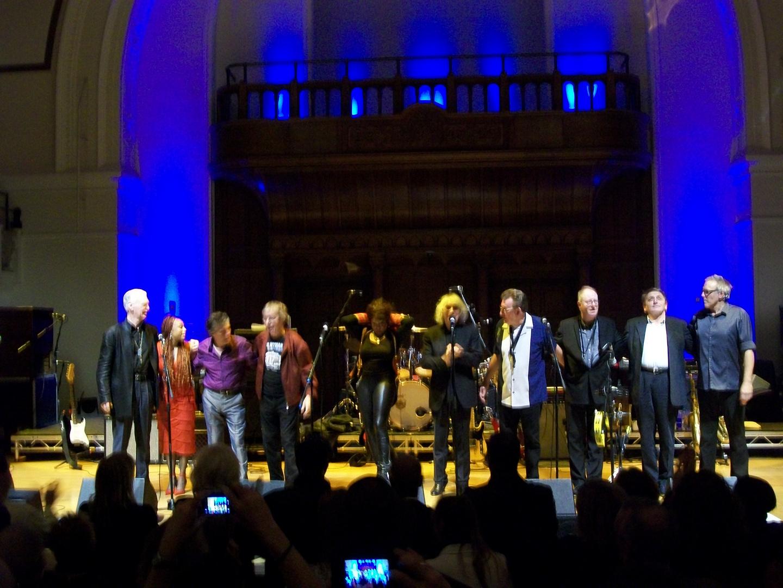 Bill Wyman and the Rhythm Kings live in London
