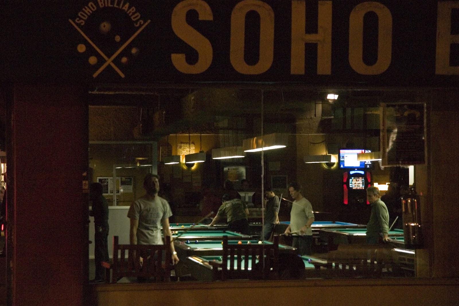 Billares en el Soho, New York