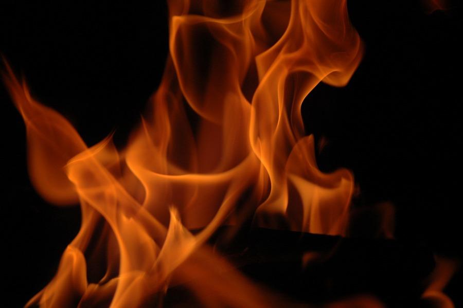 bin feuer und flamme...