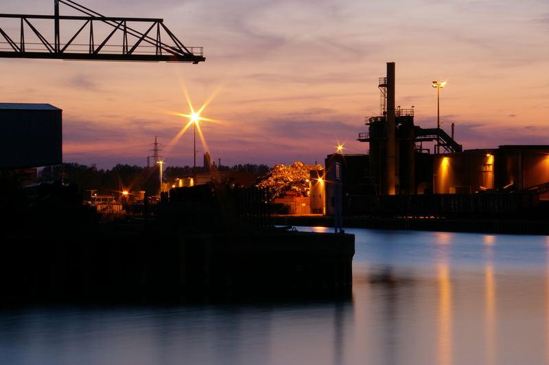 Binnehafen Dortmund - Verladung