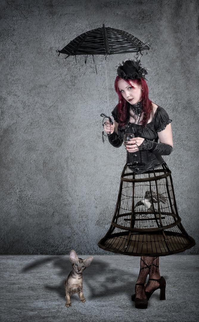 Birdcage Gilrl