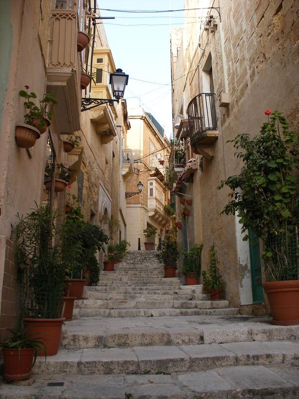 Birgu street..Malta
