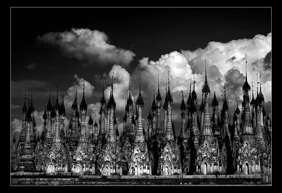 Birma' Pagodenwald