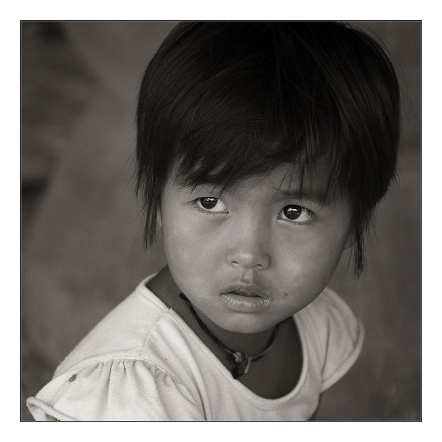 birma' young girl