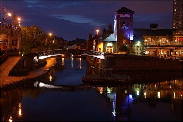 Birmingham bei Nacht ..