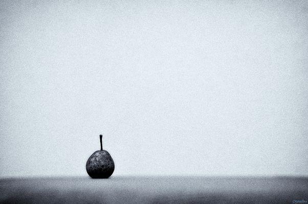 Birne an Einsamkeit