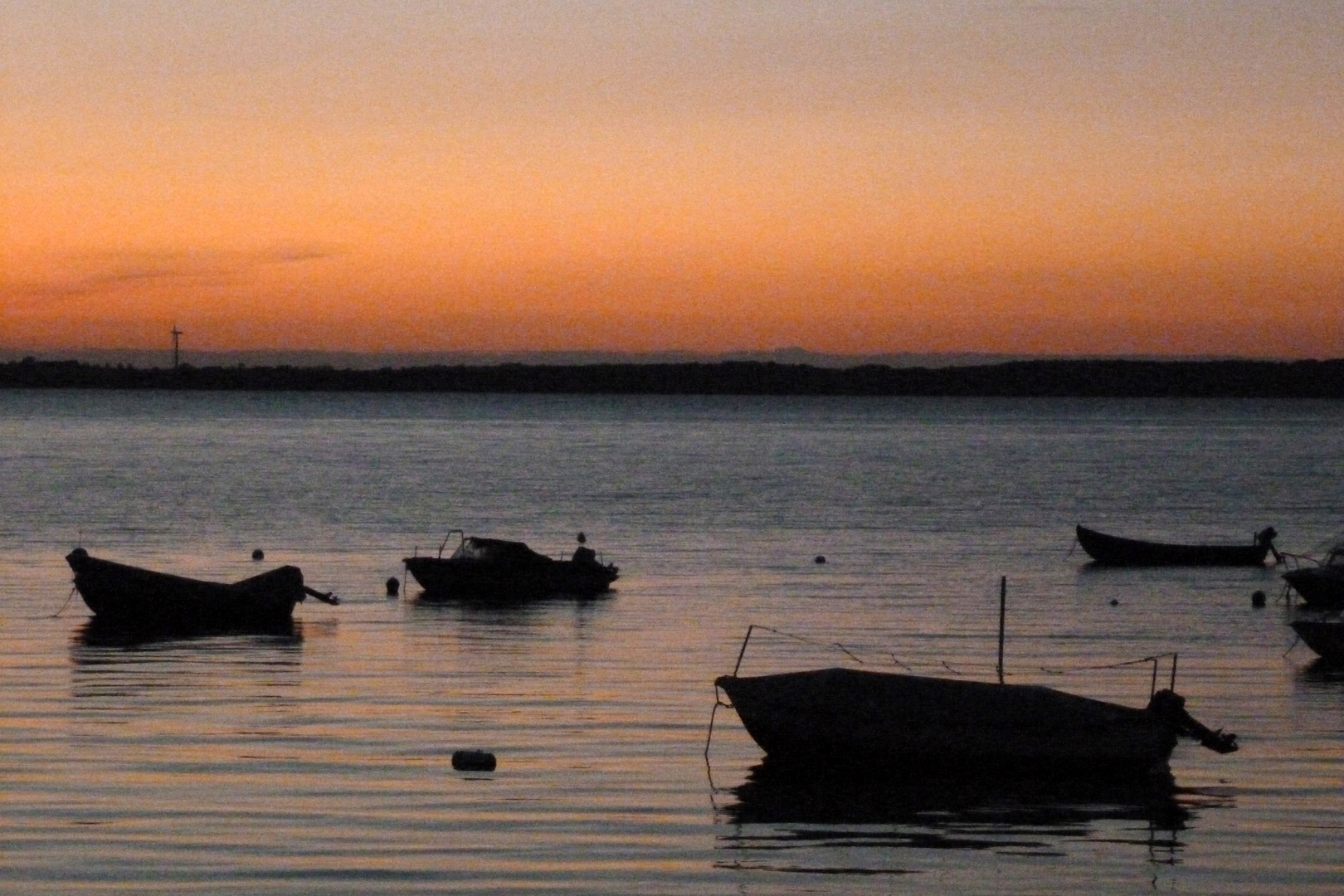 Bis morgen haben die Fische Ruhe vor den Fischern