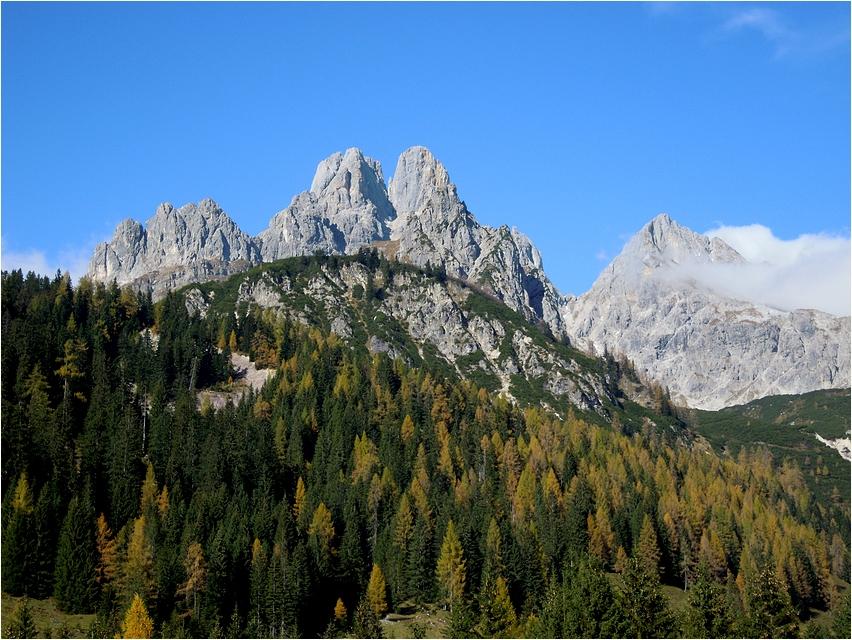 Bischofsmütze (2.458m) ...