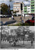 Bismarck-Platz, Homberg Heute und Gestern