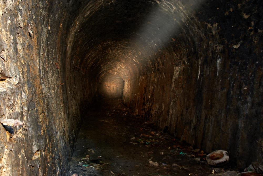 Bismarcktunnel bei Rübeland