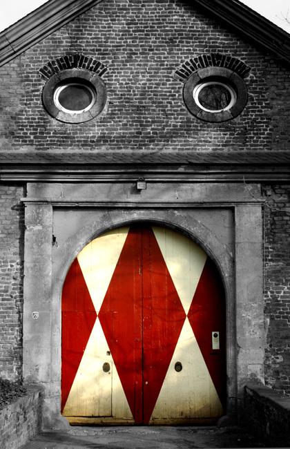 Bissiges böses Haus