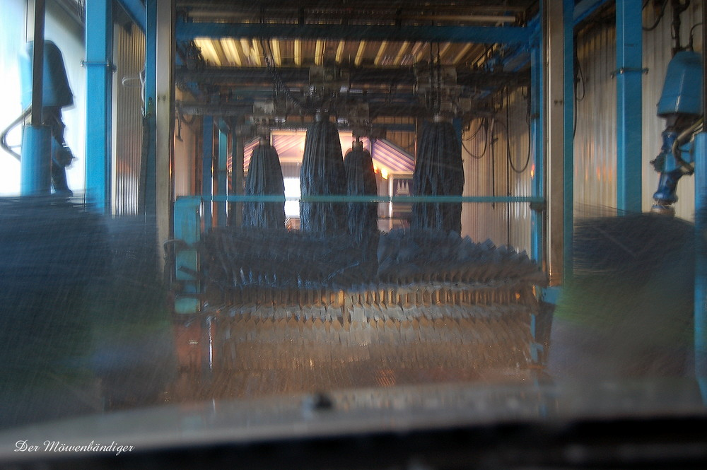 Bist Du sicher das es unser Auto ist , so sauber war es noch nie