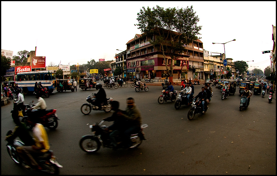 Bistupur main road
