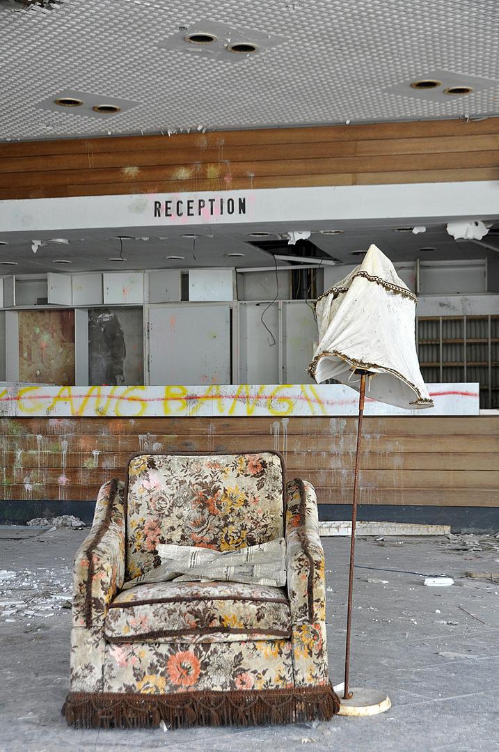 Bitte hinsetzen.....und genießen....