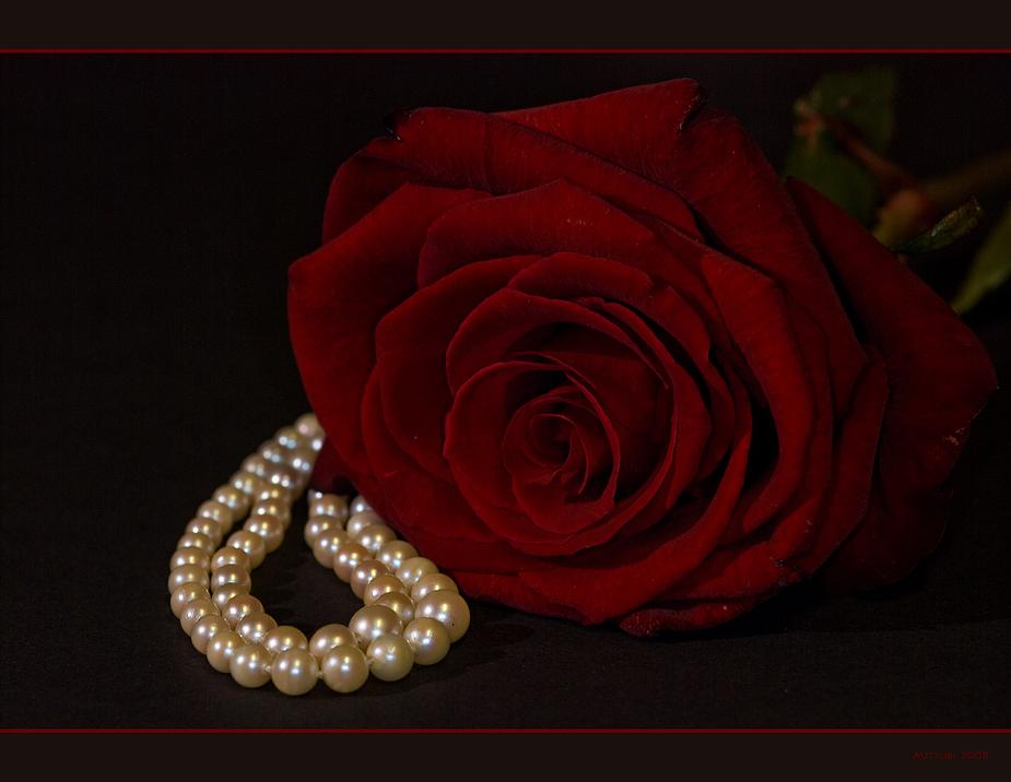 Bitte keine Perlen & Co.....