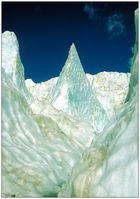 Bizarre Eislandschaft