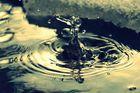 Bizarre Wasserformen