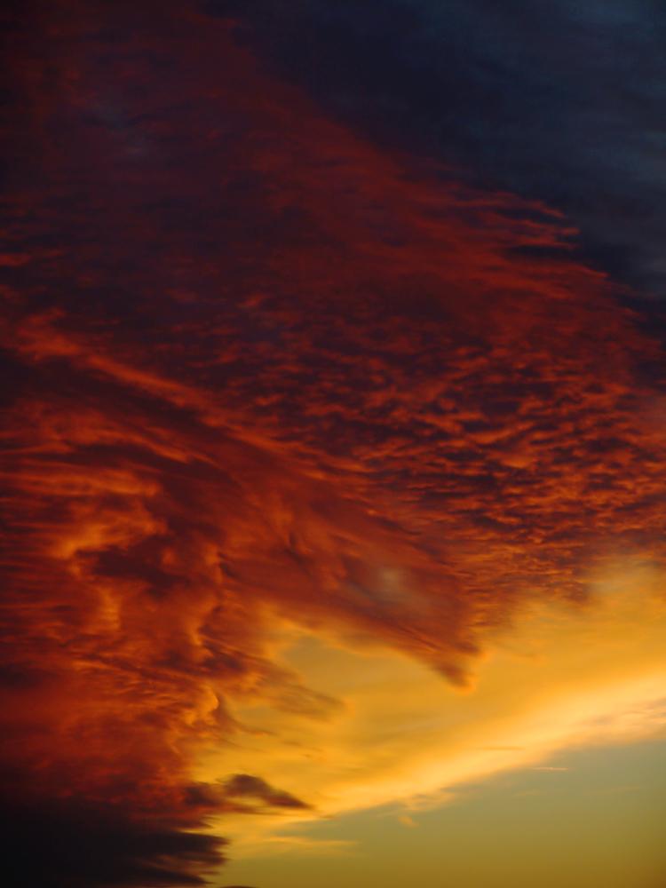 Bizarrer Sonnenuntergang reload