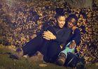Bizzy Black mit girlfriend