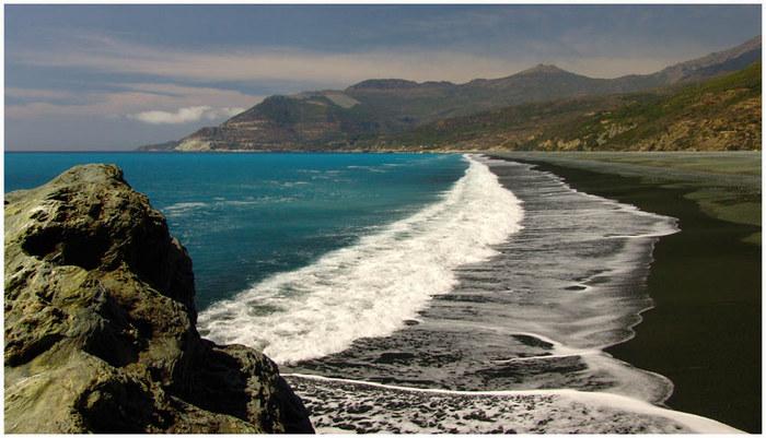 Black Beach; Nonza