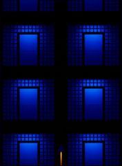 Black & Blue I
