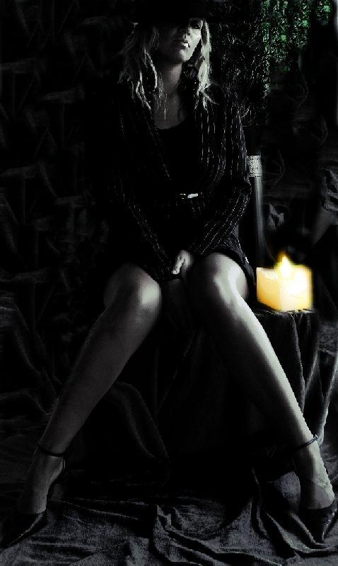 Black & color