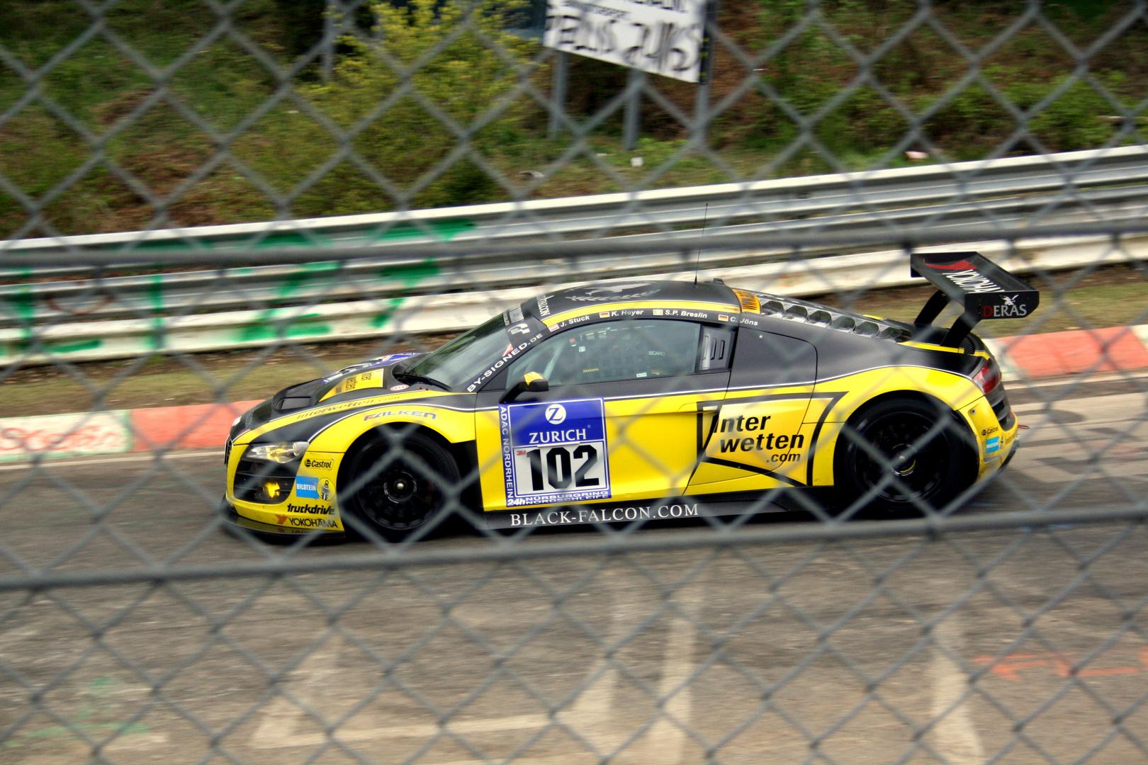 Black Falcon Audi R8 LMS / 24h Rennen 2010