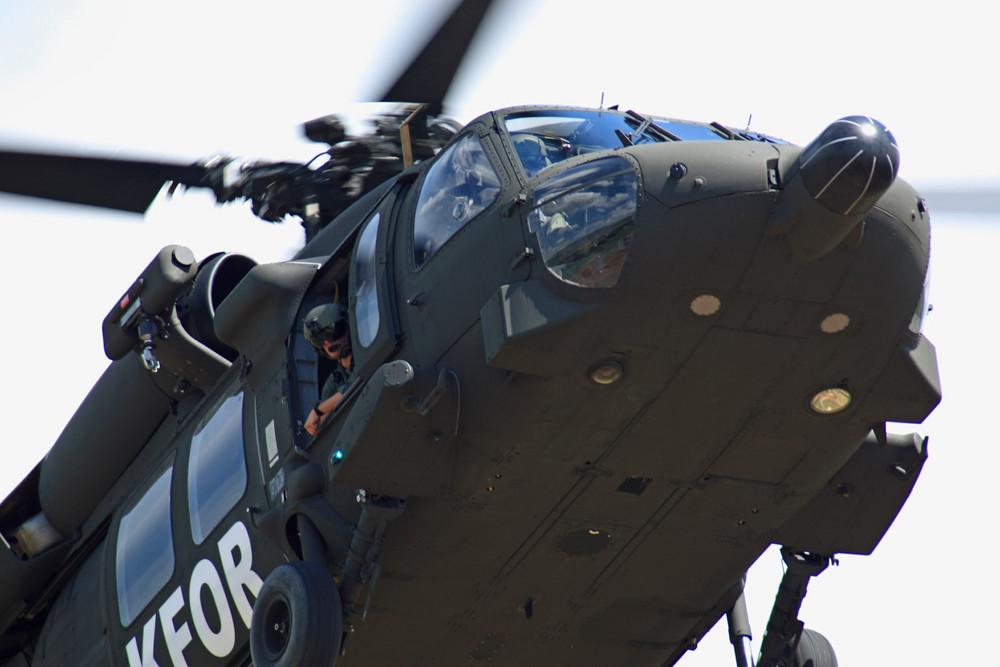 Black Hawk closeup