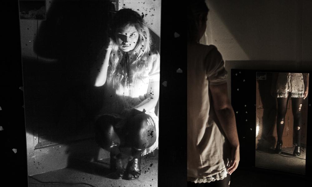 black mirror knows no reflection, knows not pride or vanity